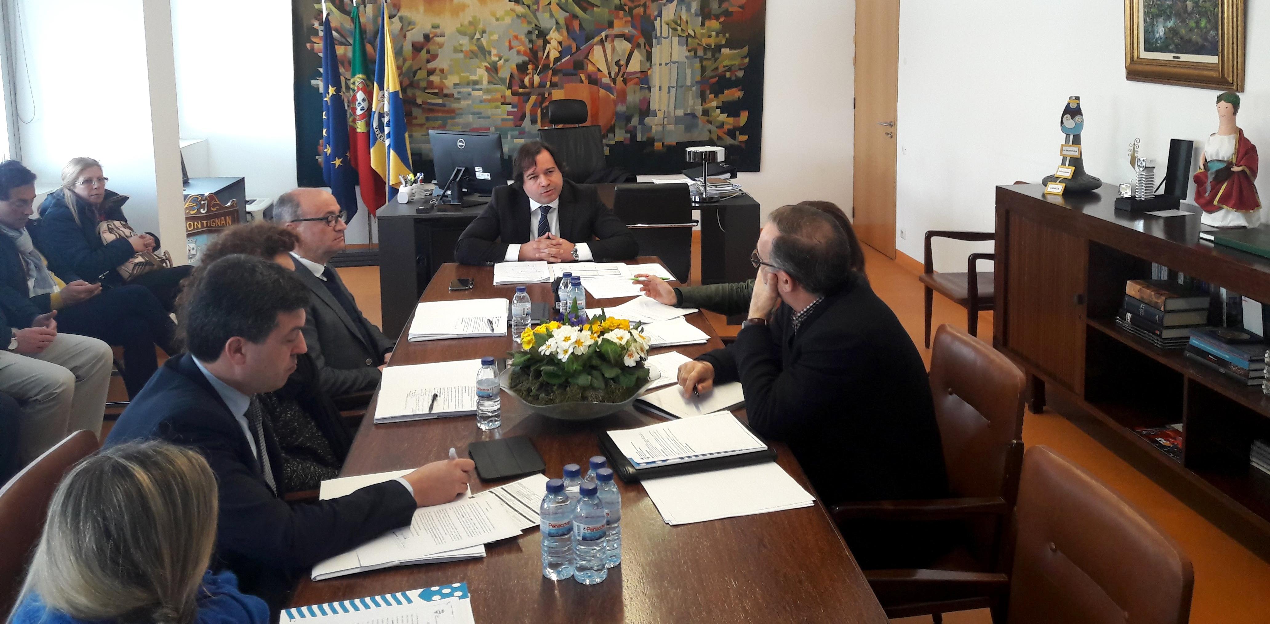 Executivo Municipal reúne dia 17.04.18