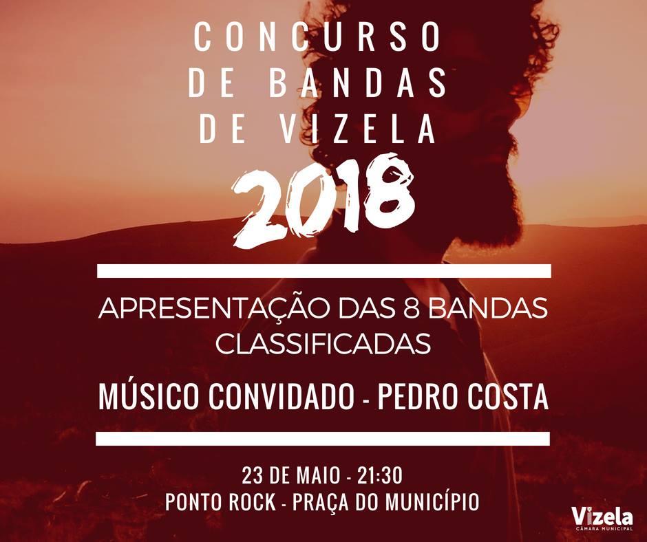 Câmara apresenta bandas apuradas para Concurso de Bandas de Vizela