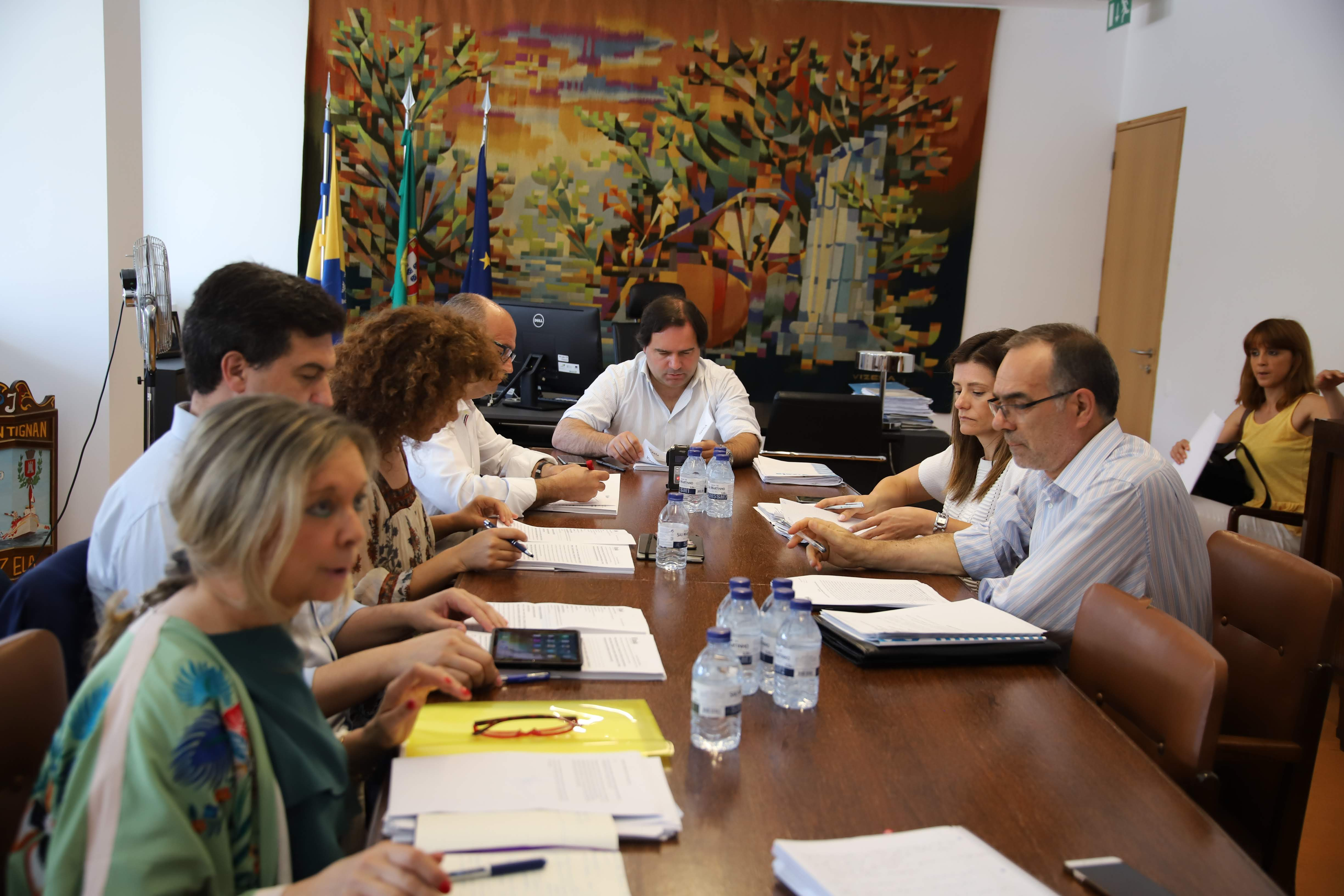 Executivo Municipal reúne dia 25.09.18