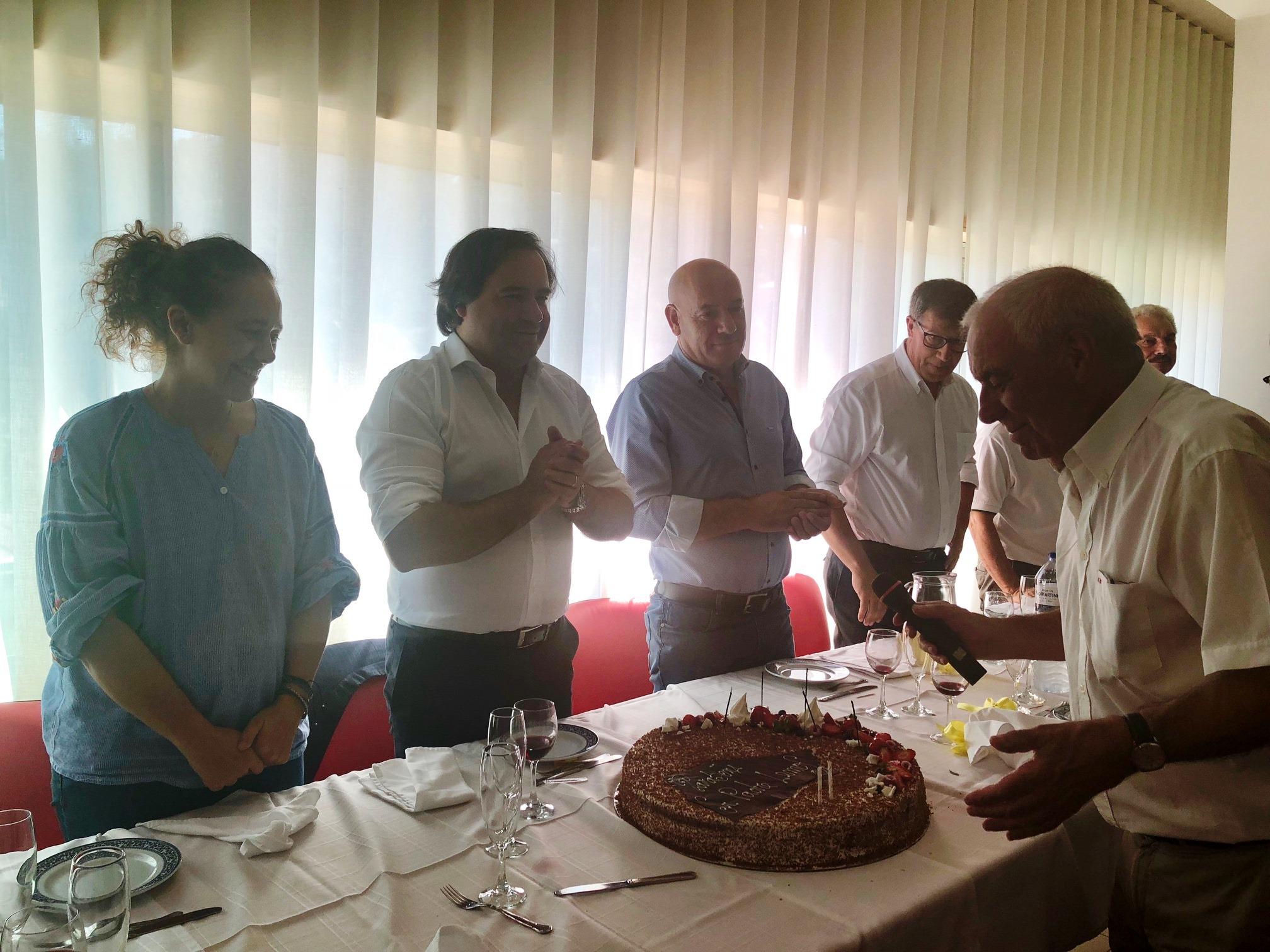 Executivo participou no aniversário do Padre Lemos