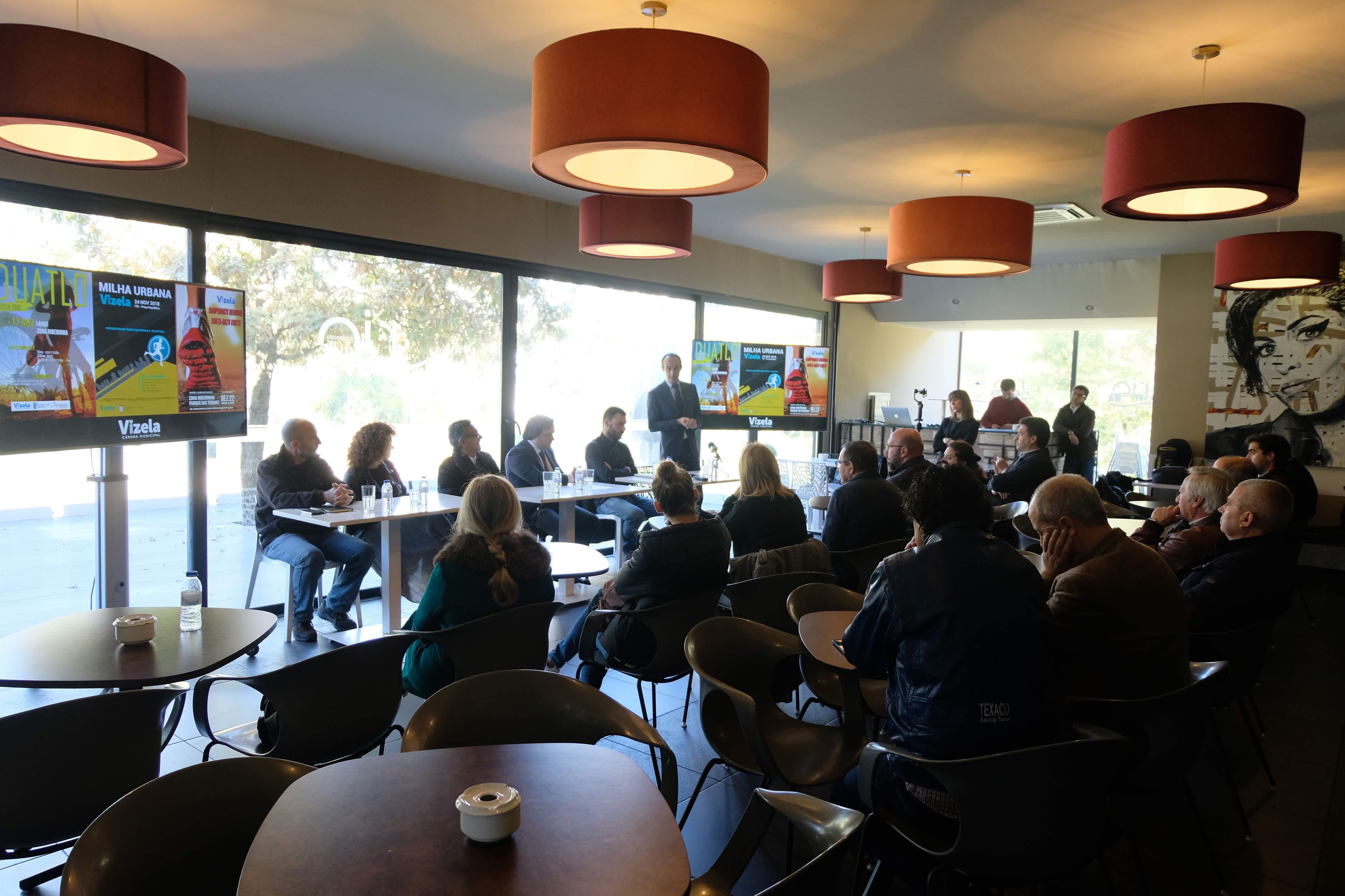Câmara apresentou Duatlo, Milha Urbana e Corta-Mato Curto
