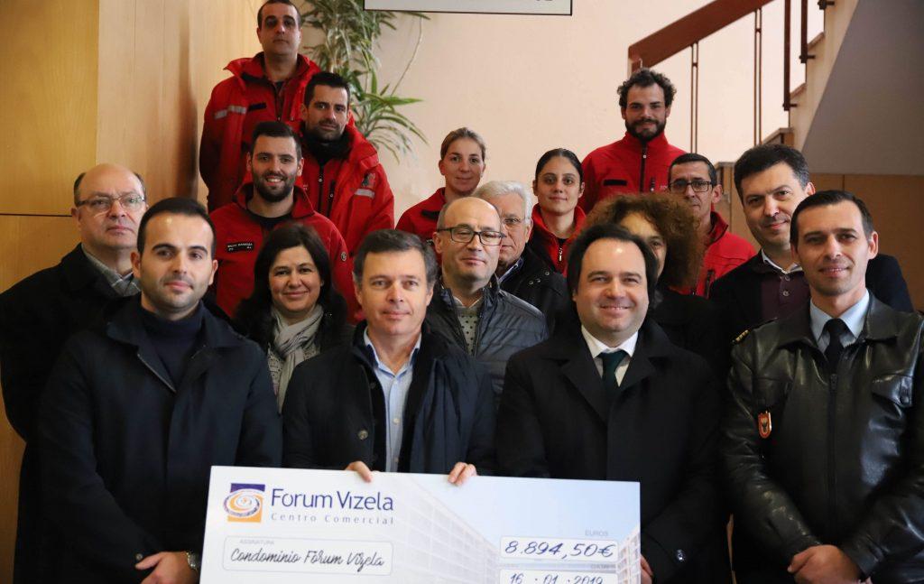 Bombeiros Voluntários de Vizela receberam cheque de 9000,00€