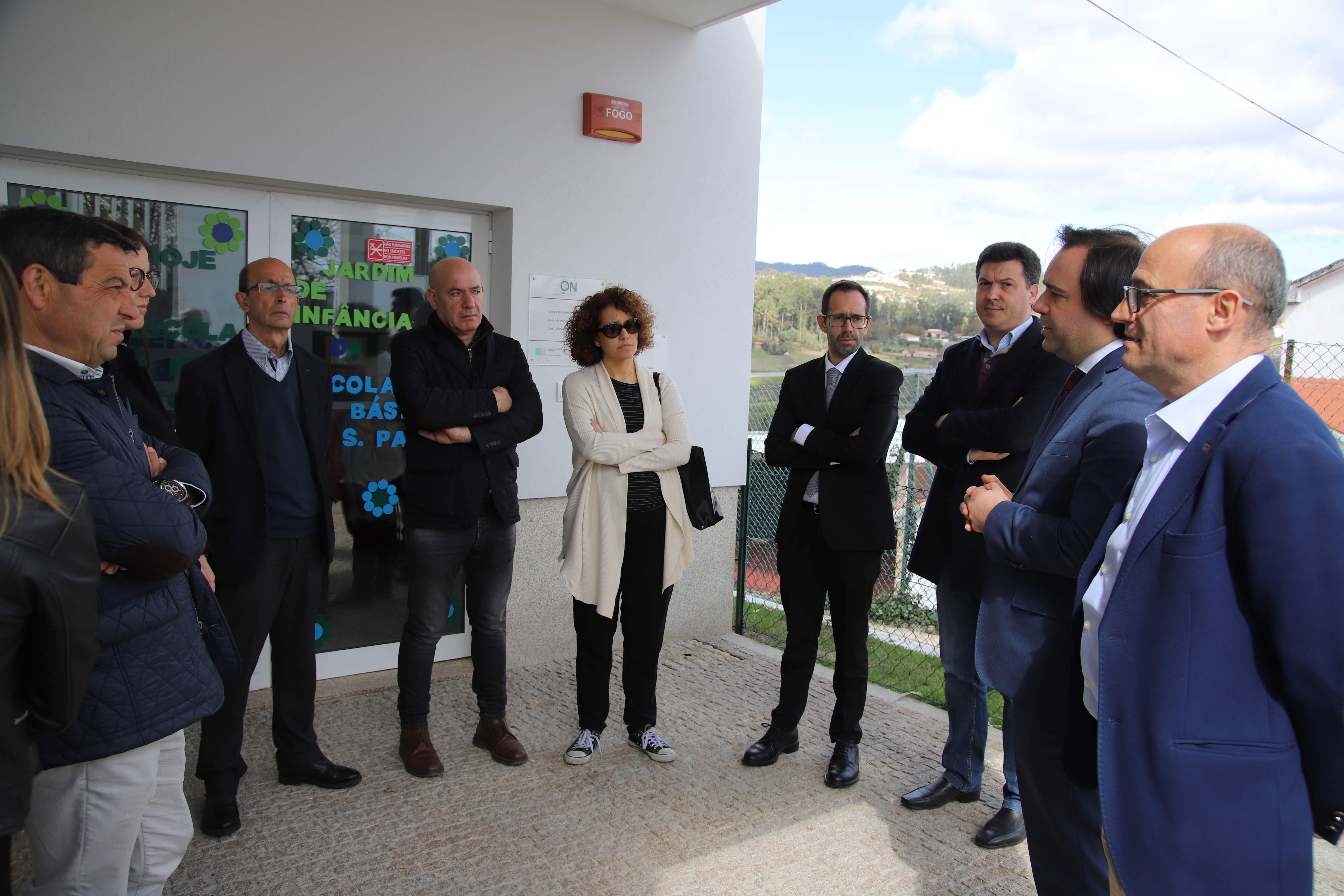 Executivo visitou Jardim de Infância de S. Paio