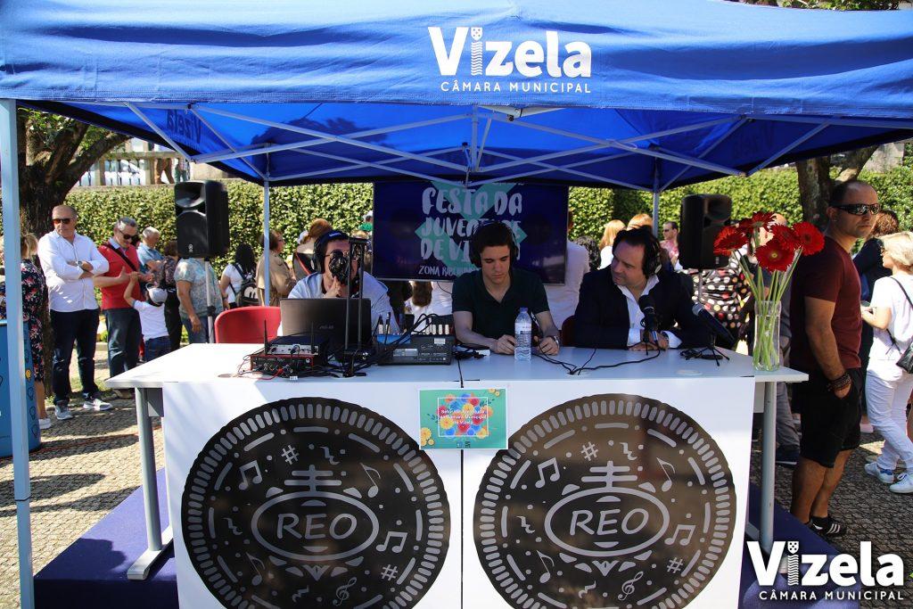 """""""Rádio Escolar Vizela Online"""" apresentada na EBS Infias"""