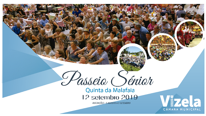 Câmara promove Passeio Sénior 2019 à Quinta da Malafaia