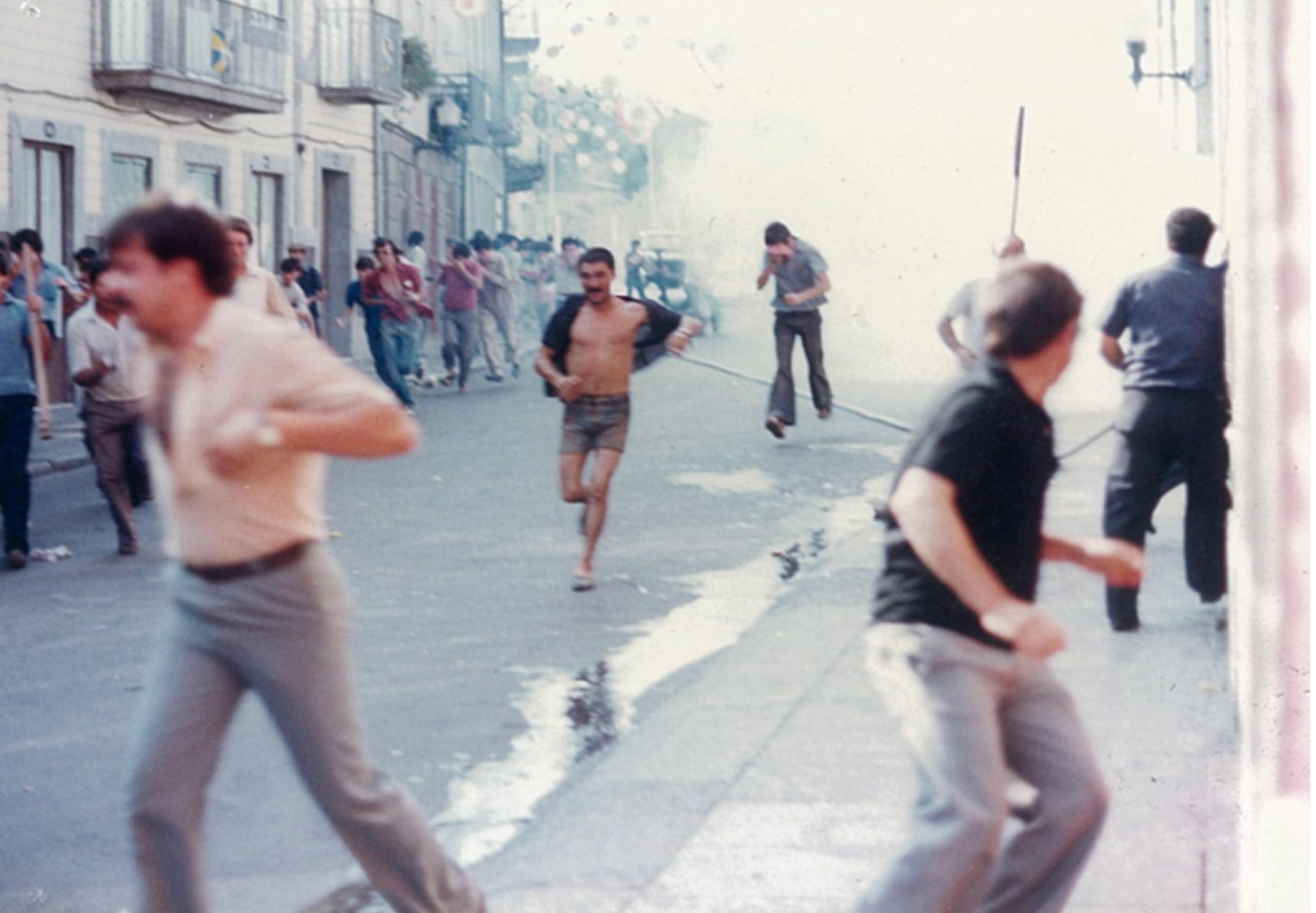 Apresentação das comemorações do 5 de agosto de 1982