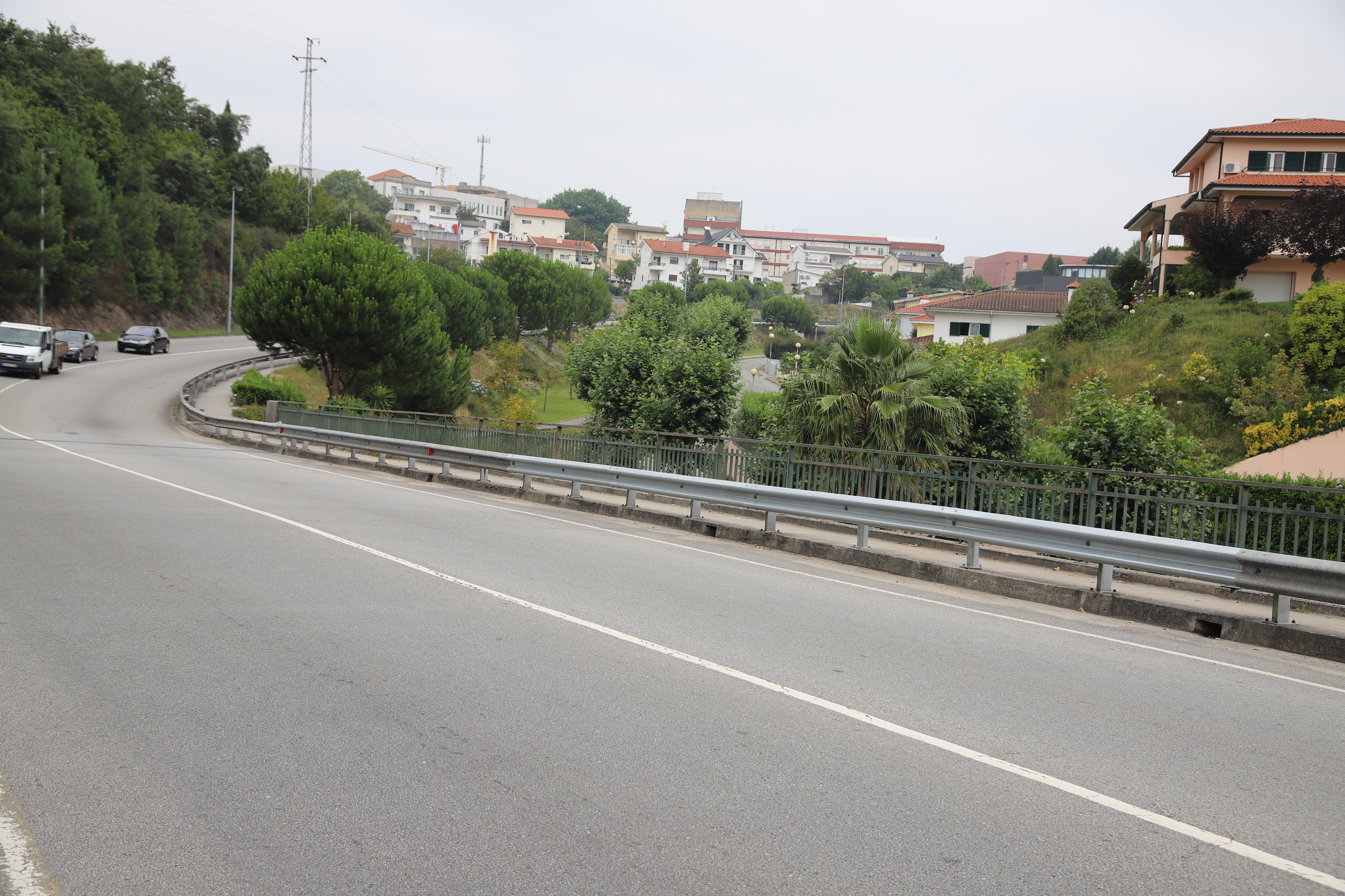 Câmara substituiu juntas de dilatação e rails da ponte da Circular Urbana sobre o Rio Vizela