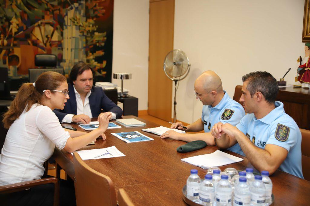 Câmara reuniu com GNR para apresentação do projeto Vizela ProAnimal