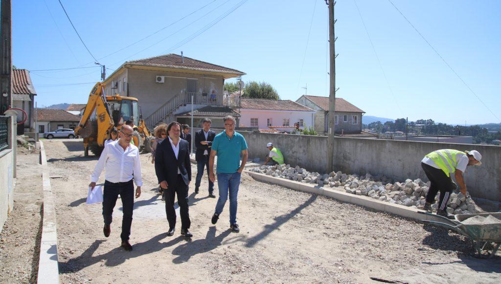 Arrancaram obras do PARU em Vizela