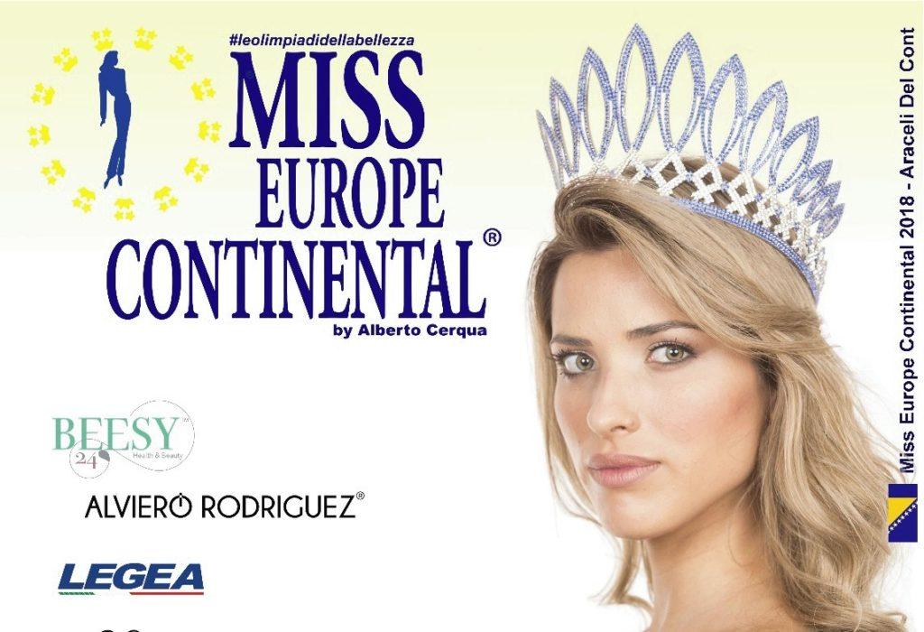 Vizela recebe final nacional da Miss Europe Continental