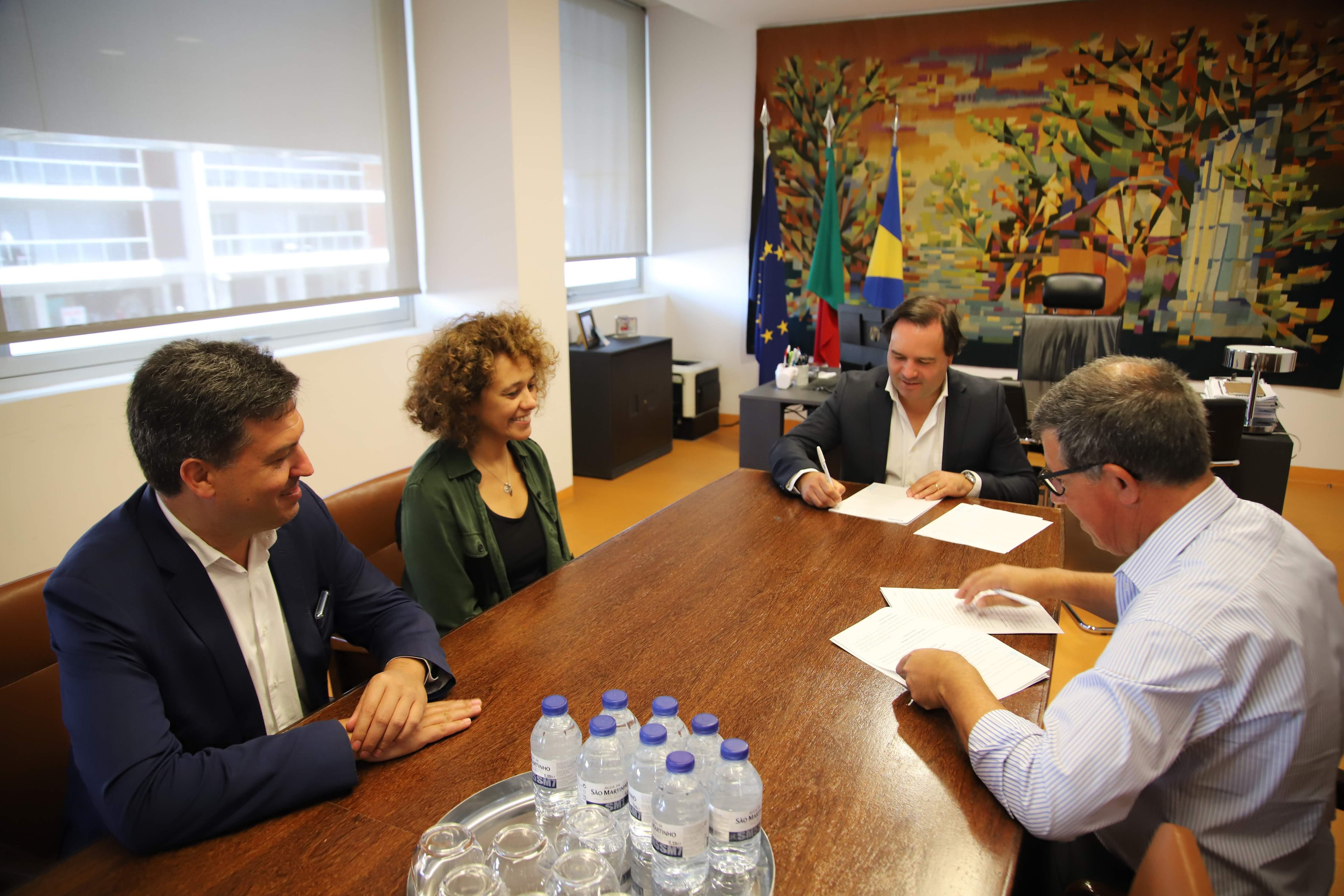 Câmara assinou protocolo com a Sociedade Filarmónica Vizelense