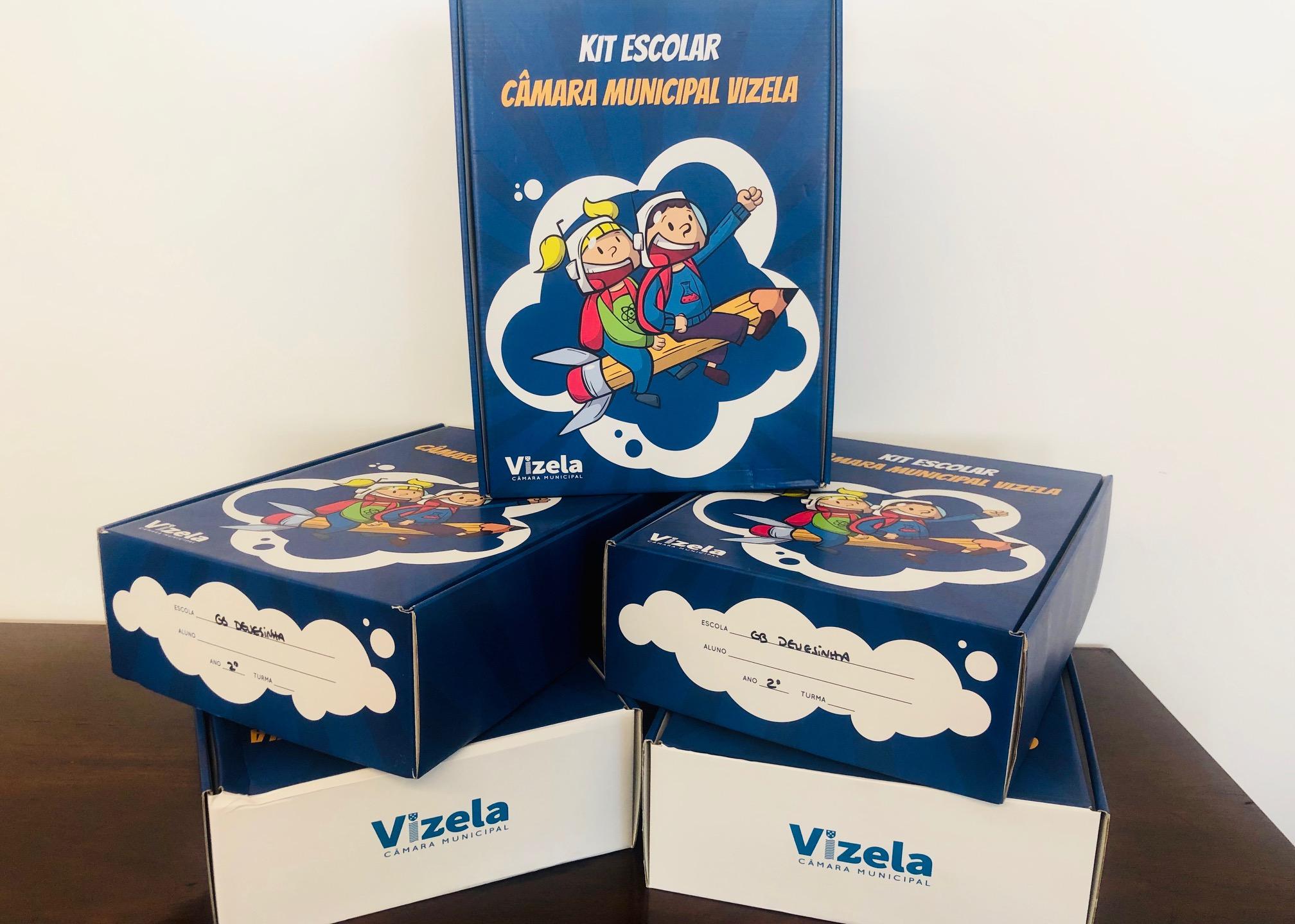 Câmara distribui kits de material escolar e livros de fichas/atividades aos alunos do 1º ciclo