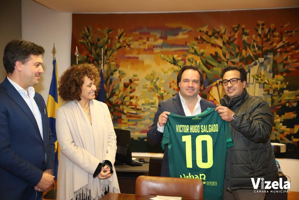 Centro Cultural e Desportivo de Santa Eulália homenageou Presidente da Câmara