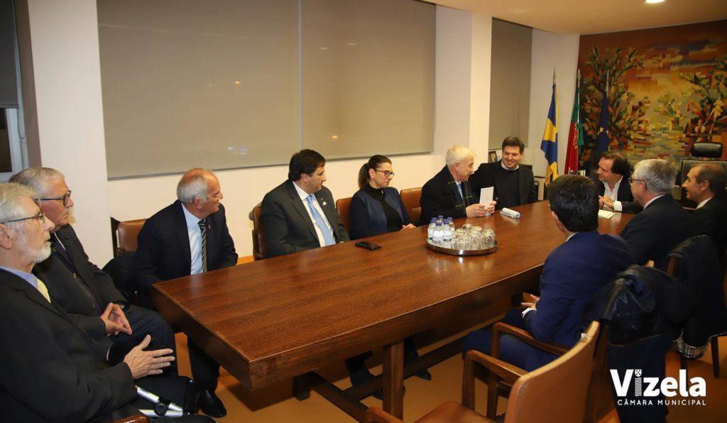Presidente da Câmara recebeuRotaryClub Vizela