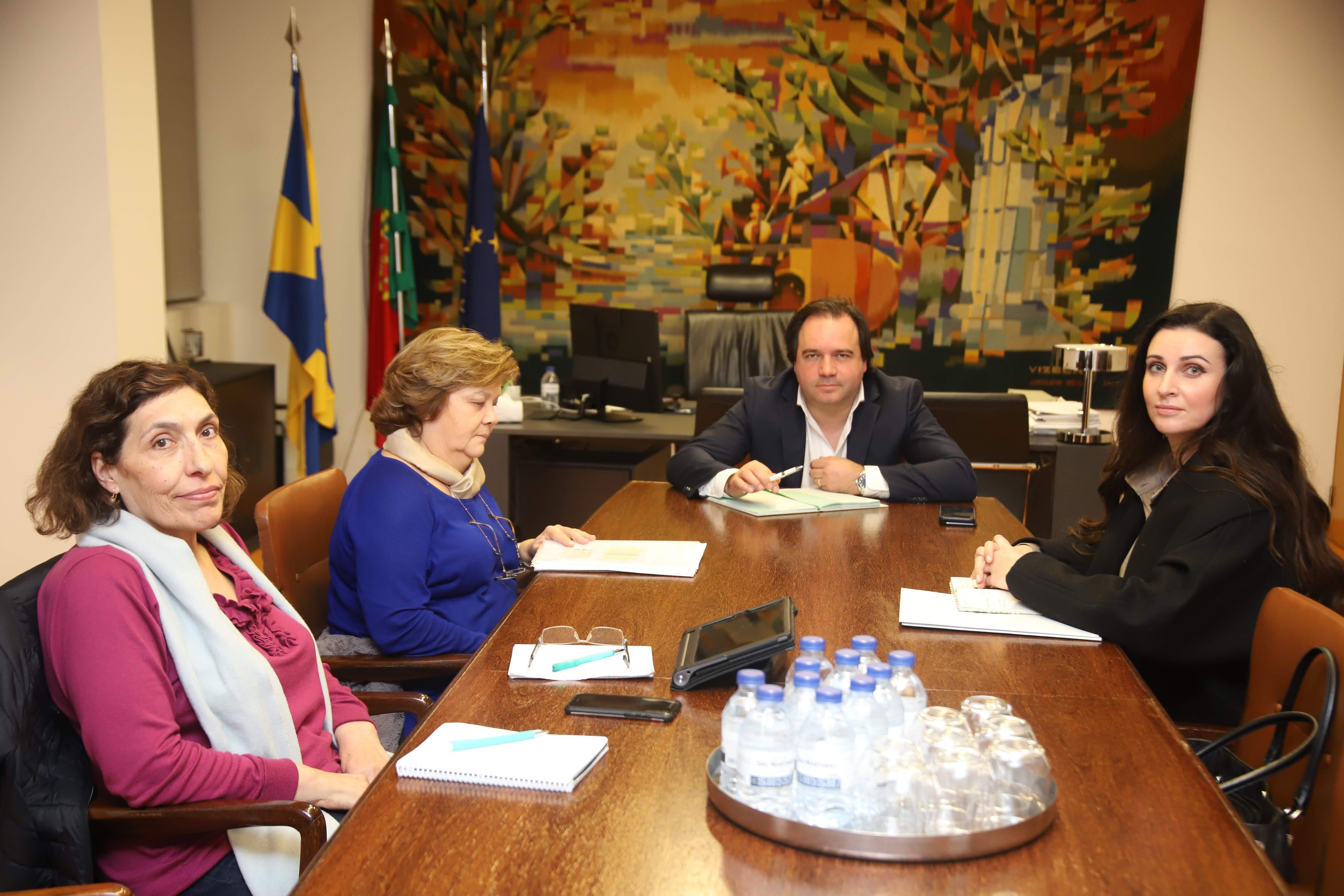 Câmara Municipal reuniu com Companhia de Banhos de Vizela e Tesal