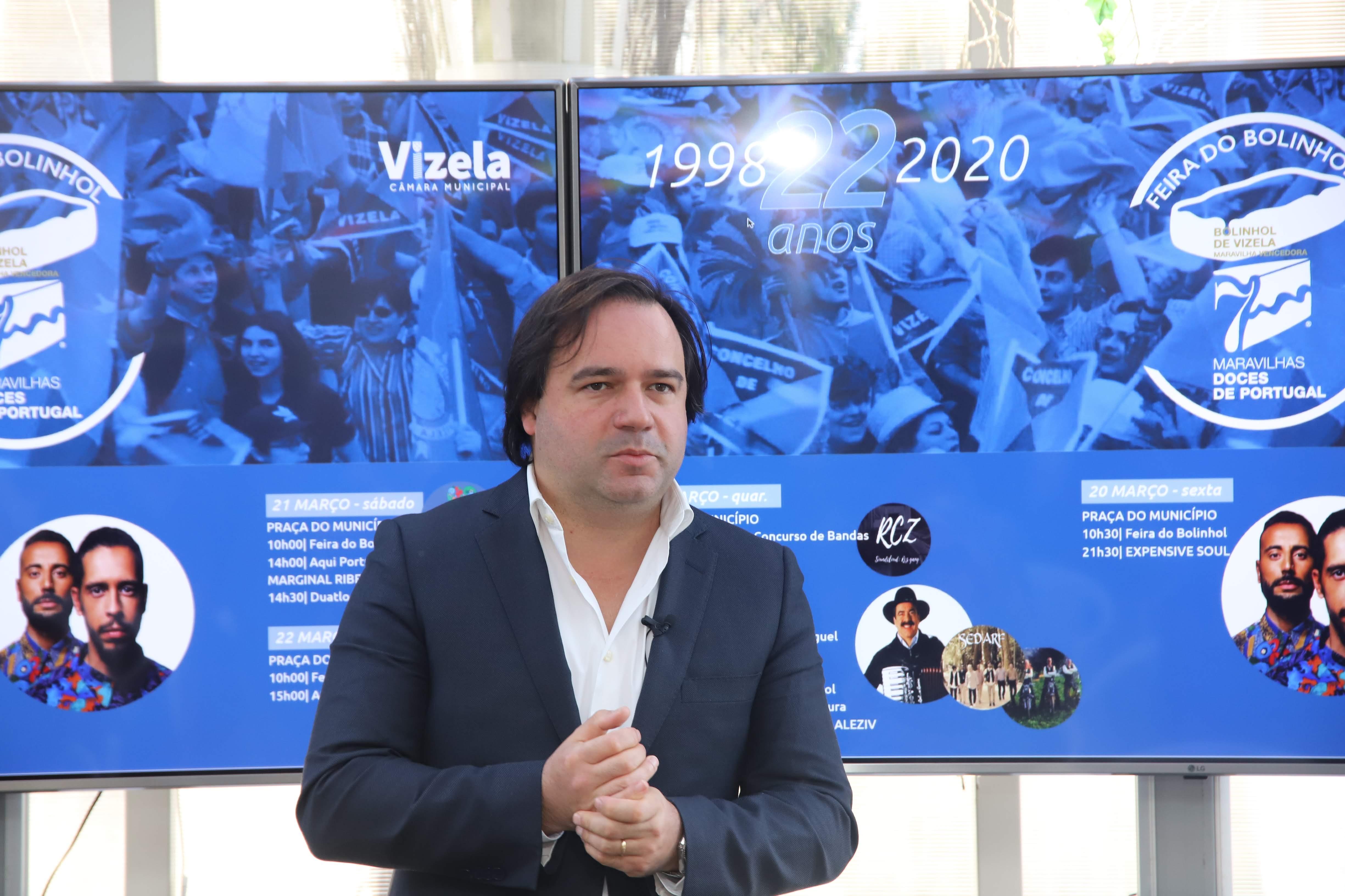 Município de Vizela comemora22.ºaniversário