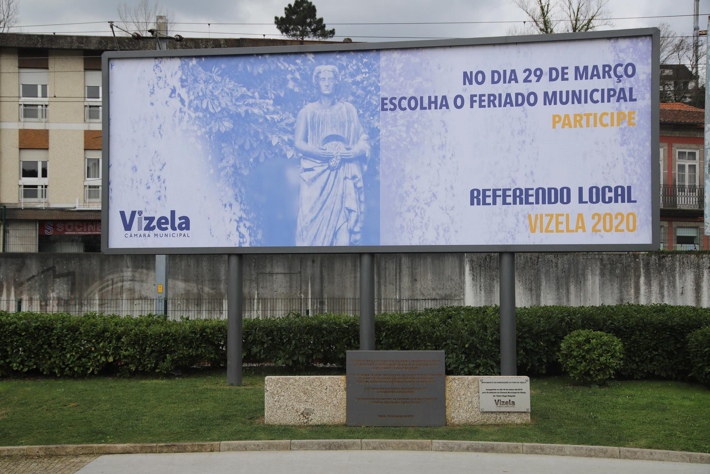 Iniciou campanha de divulgação do referendo do feriado municipal