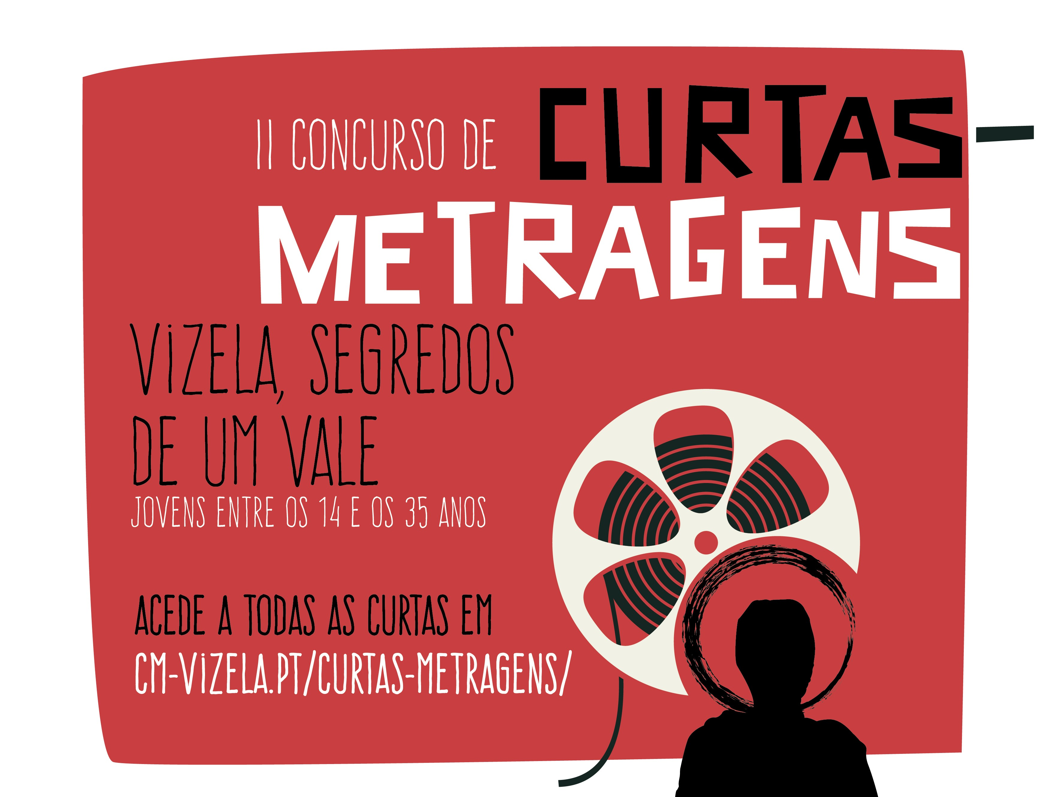 II CONCURSO DE CURTAS METRAGENS DE VIZELA COM 6 FINALISTAS