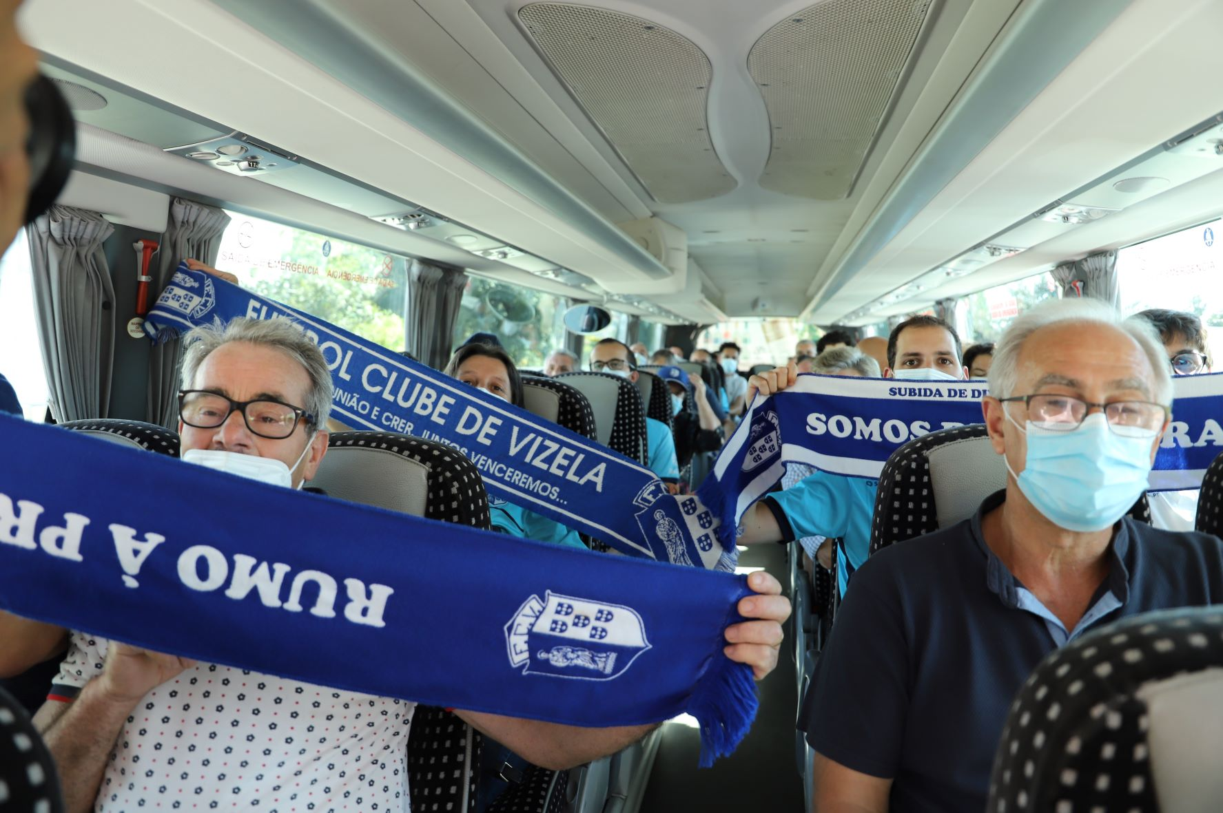 CÂMARA MUNICIPAL DISPONIBILIZA AUTOCARROS PARA JOGO DO FC VIZELA – BENFICA