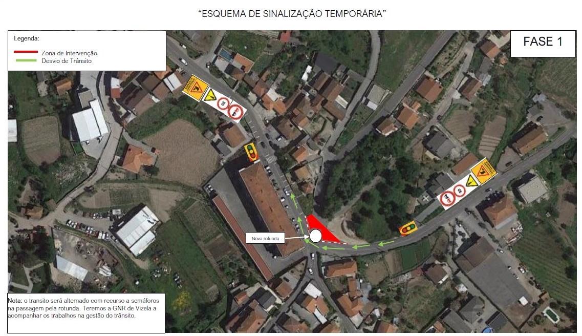 ALTERAÇÕES DE TRÂNSITO PARA OBRA DE CONSTRUÇÃO DA PONTE DA ALIANÇA